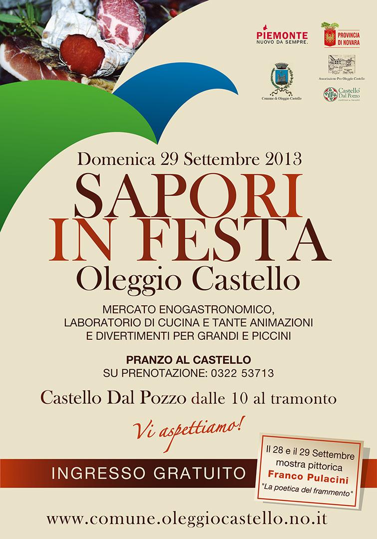 Oleggio_Sapori in festa 2013_manifesto