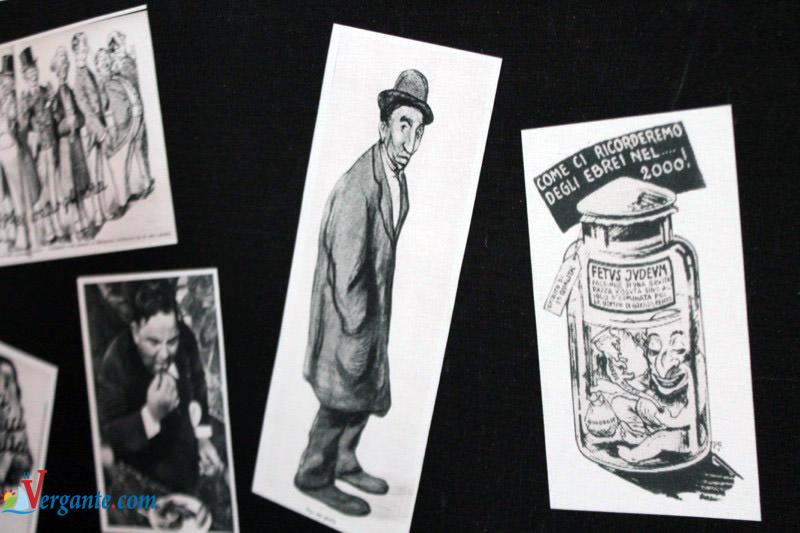 """Un particolare della mostra """"1938 - Lo Stato italiano emana le leggi razziali"""""""