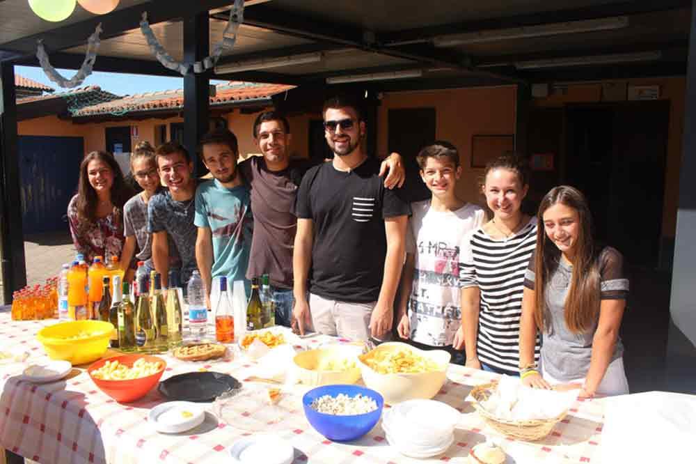 il gruppo giovani di Paruzzaro