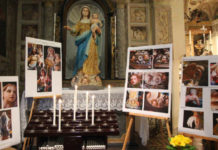 Statua della Madonna del Rosario