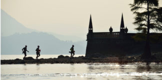 swimrun cheers a stresa
