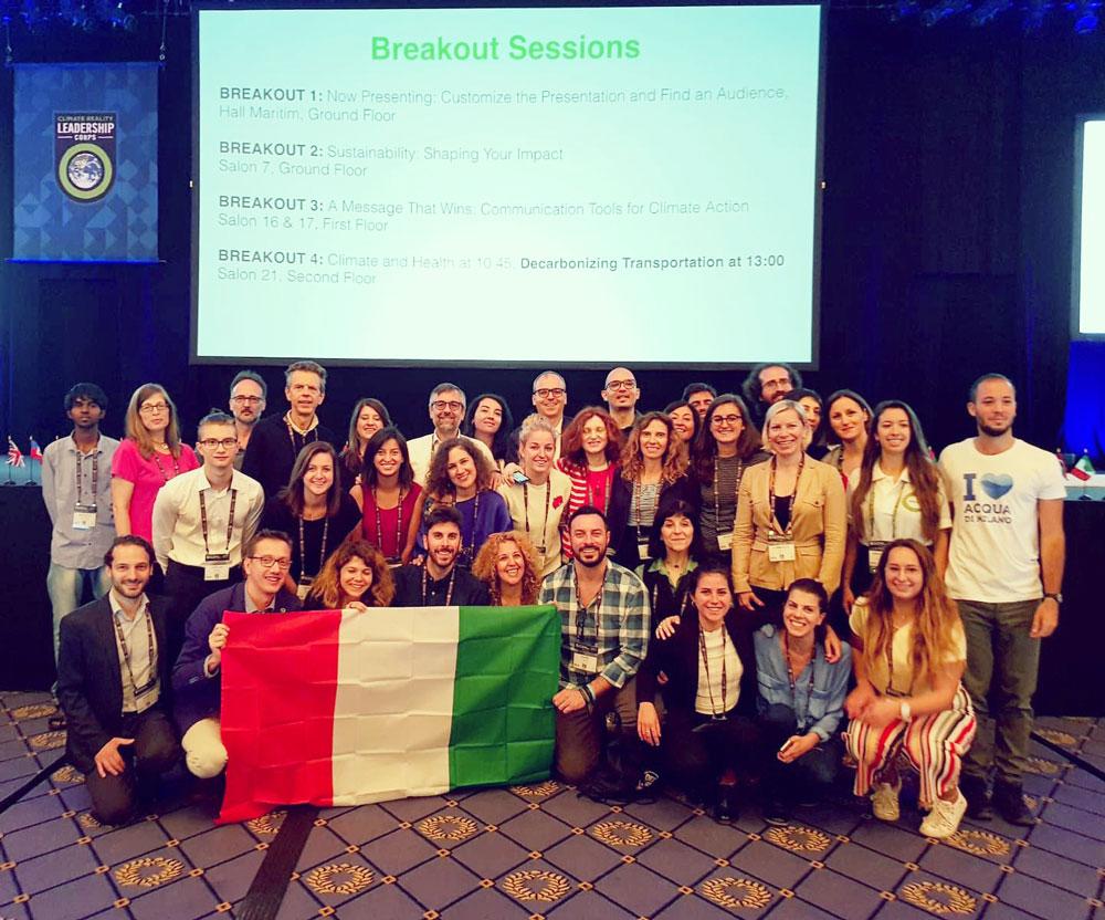 laura marchini tra i 40 climate reality leader italiani