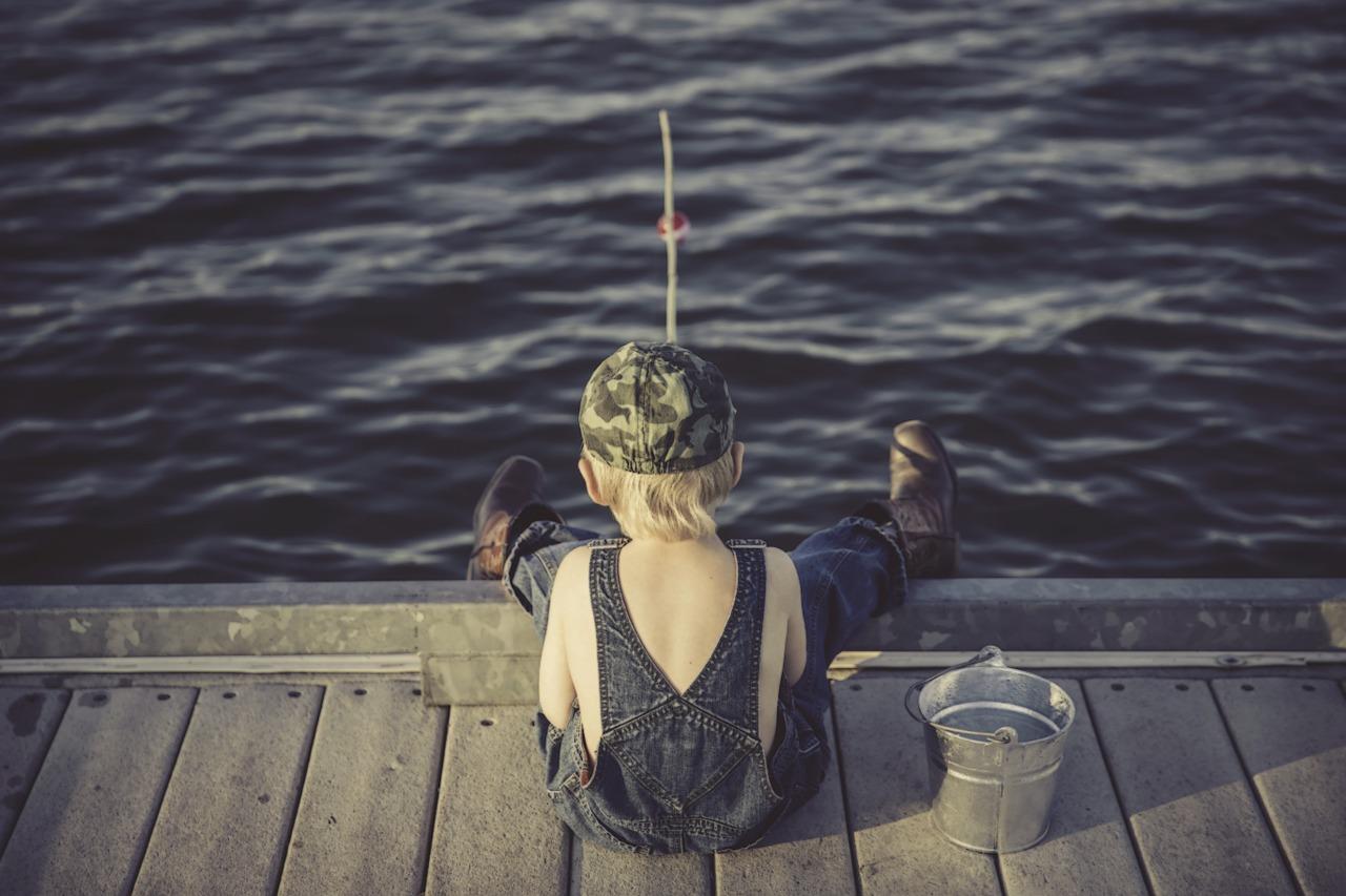 corso di pesca per bambini lago maggiore