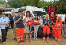 Ambulanza in festa 2015, defibrillatore di Tapigliano ambulanza del vergante in festa 2016